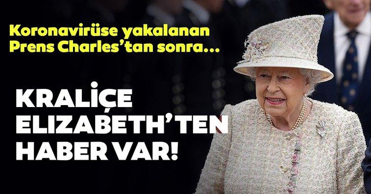 Kraliçe Elizabeth'ten haber var! Corona virüse yakalanan Prens Charles'in ardından Kraliçe Elizabeth...