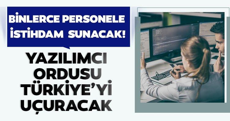 Binlerce personele istihdam sunacak! Türkiye'ye yazılım ordusu...