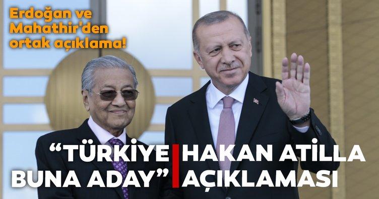 Başkan Erdoğan'dan Hakan Atilla açıklaması