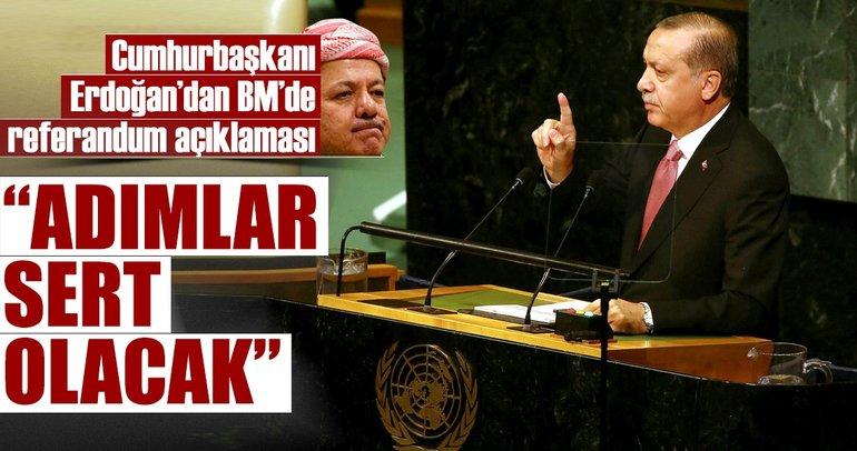 Cumhurbaşkanı Erdoğan: Adımlar sert olacak