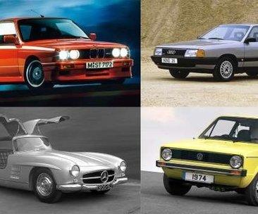 Tarihin en iyi 100 Alman otomobili