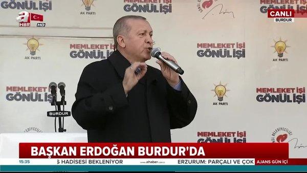 Cumhurbaşkanı Erdoğan'dan o ülkeler sert cevap