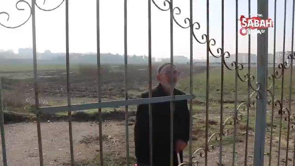 93 yaşındaki dede su almak için girdiği alanda mahsur kaldı imdadına polis yetişti | Video
