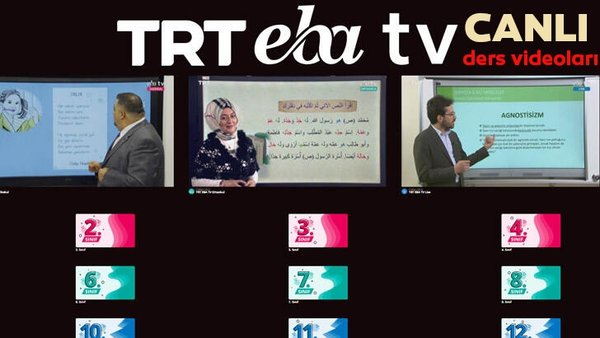 TRT EBA TV izle! (7 Nisan 2020 Salı) Ortaokul, İlkokul, Lise dersleri 'Uzaktan Eğitim' canlı yayın | Video