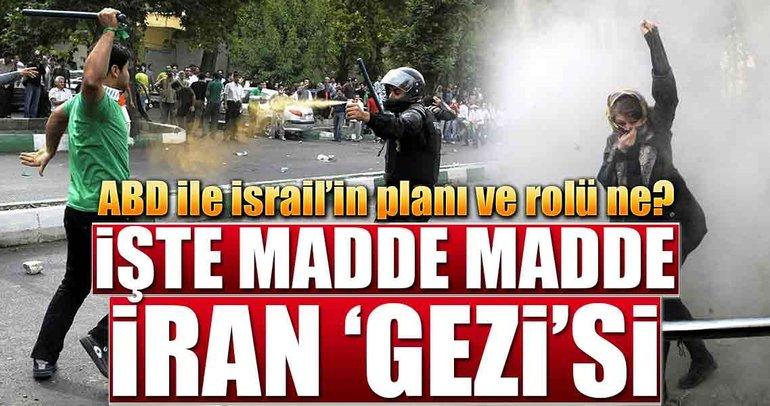 İşte madde madde İran 'Gezi'si