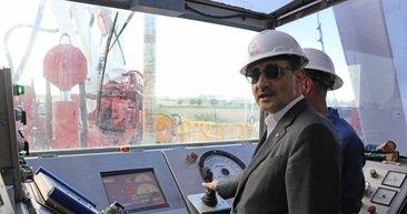 Kırklareli´nde Çeşmekolu 2 kuyusunda doğalgaz için ilk sondaj başladı
