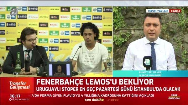 Fenerbahçe Lemos'u İstanbul'a getiriyor