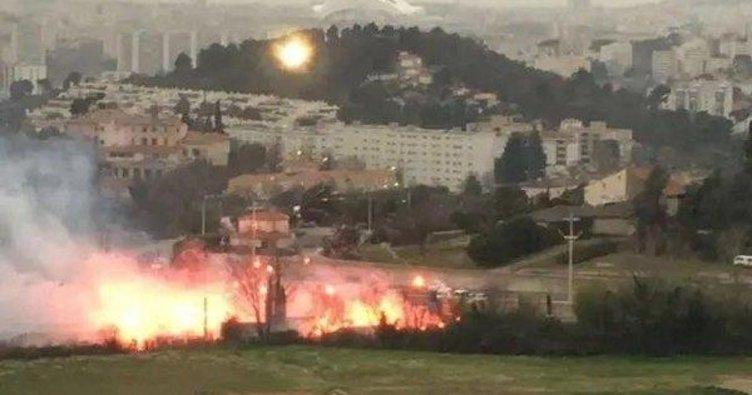 Marsilya taraftarı tesisleri bastı