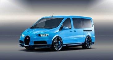 Spor otomobil devleri minibüs geliştirseydi...