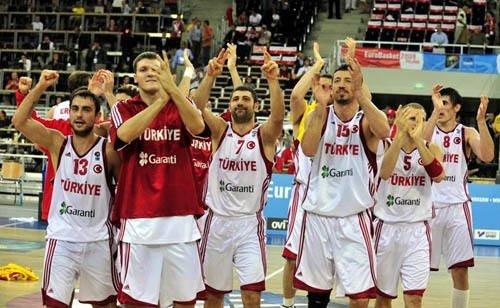 Türkiye - İspanya basketbol maçı