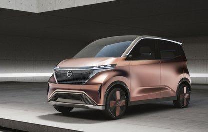 Nissan IMk konsepti geleceği işaret ediyor