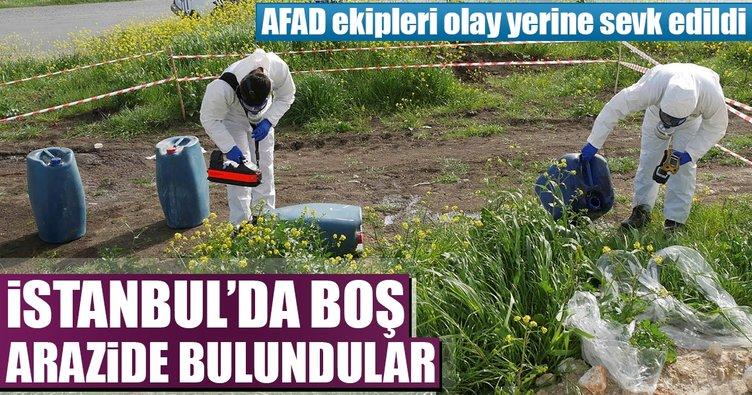 İstanbul'da 'fosforik asit' şüphesi