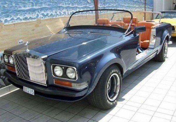Böyle araba gördünüz mü?