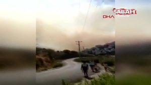 Muğla Bodrum'da yangın