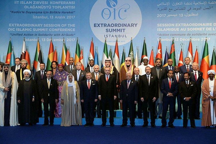 İslam İşbirliği Teşkilatı İİT Olağanüstü Zirvesi