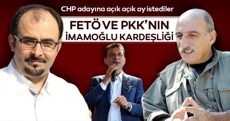 FETÖ ve PKK'nın İmamoğlu kardeşliği