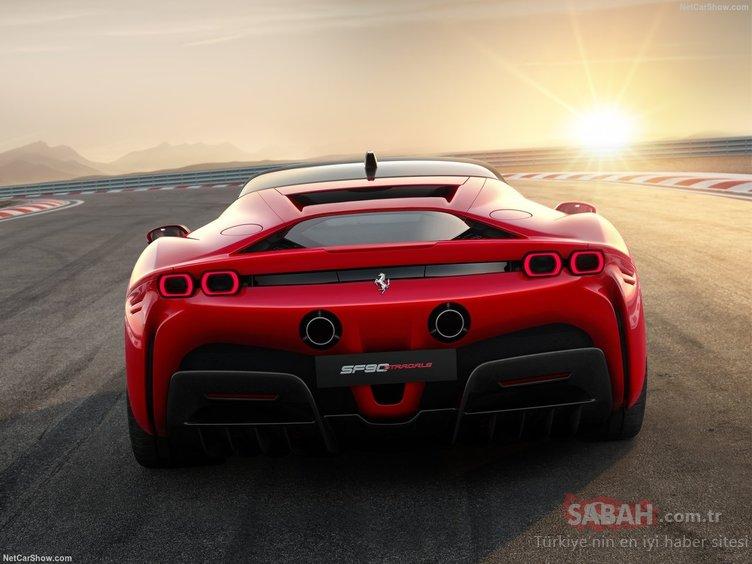Ferrari SF90 Stradale sonunda tanıtıldı! İlklere imza atan Ferrari SF90 Stradale neler sunuyor? İşte özellikleri...