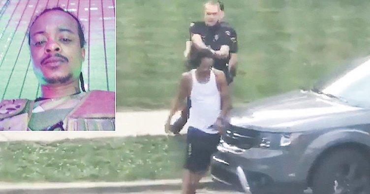 ABD polisinden siyahi gence 7 kurşun