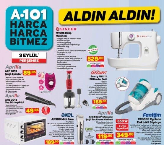 Bu hafta A101 aktüel ürünler kataloğunda neler var? 3 Eylül 2020 A101 aktüel ürünler DEV İNDİRİM BU HAFTA!
