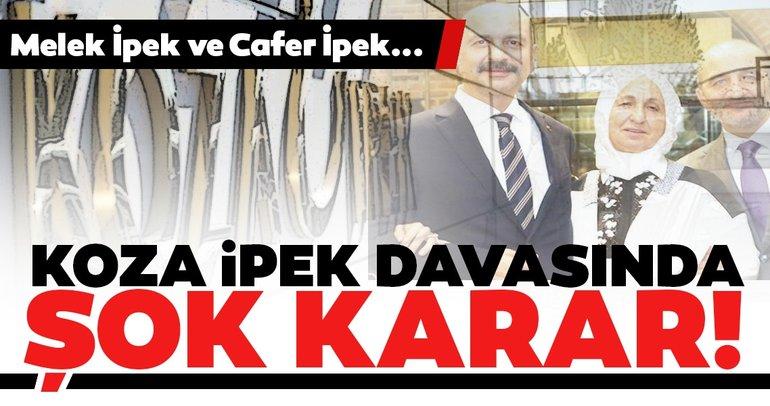 Son dakika: Koza İpek davasında karar çıktı! Melek İpek ve Cafer İpek'e hapis cezaları...