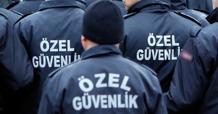 20 özel güvenlik görevlisi gözaltına alındı