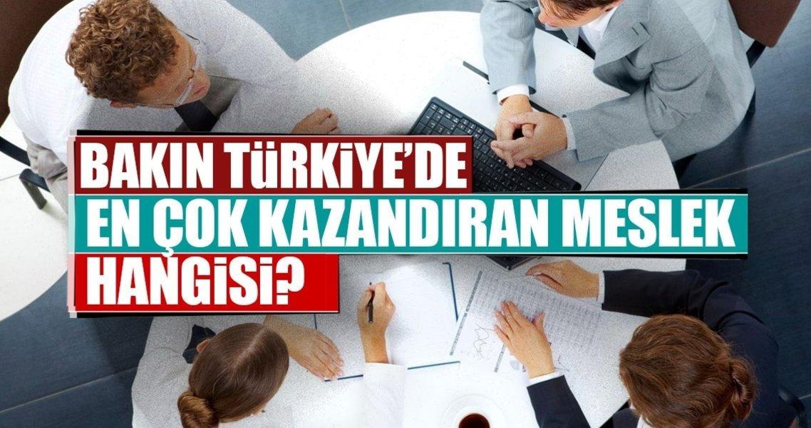 Türkiyede En çok Kazandıran Meslekler Galeri Ekonomi 28