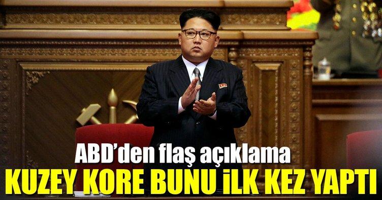 ABD'den flaş K.Kore açıklaması