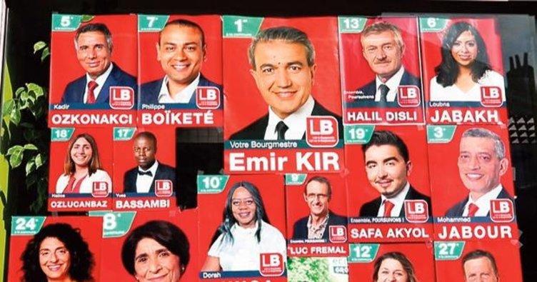 Yerel seçimlere Türk damgası