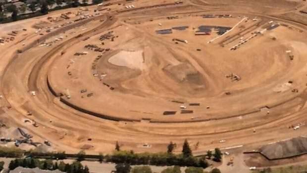 Apple'ın yeni kampüsünden fotoğraflar