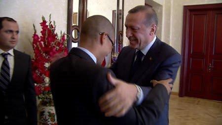 Başbakan'dan Alex'e duygusal veda