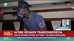 Trabzonspor Benik Afobe'yi resmen açıkladı | İZLE