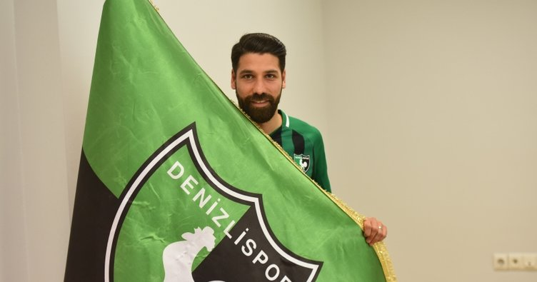 Olcay Şahan, Denizlispor'a resmi imzayı attı