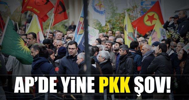 AP'de yine PKK şov