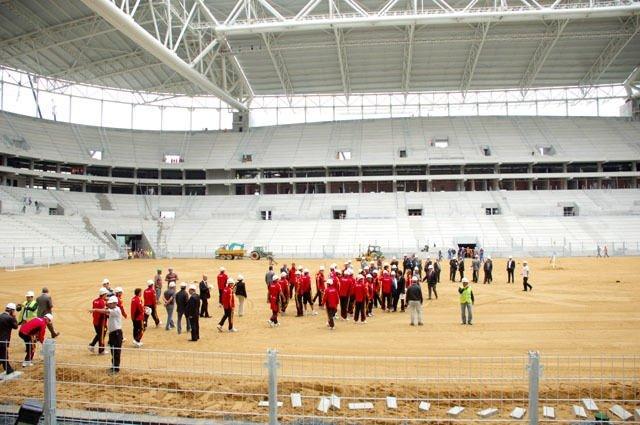 Türk Telekom Arena'ya ilk adım atıldı!