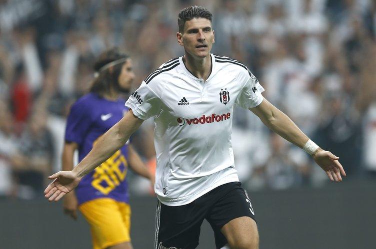 Beşiktaş Osmanlıspor maçından kareler