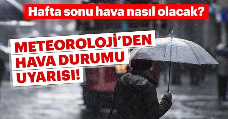 Meteoroloji'den son dakika uyarısı geldi! Marmara bölgesine yağış geliyor... Bugün hava durumu nasıl olacak?