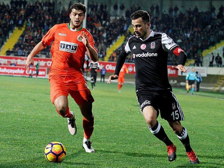 Alanyaspor - Beşiktaş muhtemel 11'ler