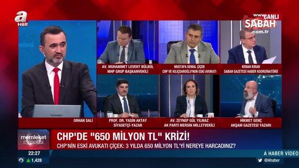 CHP'nin eski avukatı Çiçek: Bu paranın nereye gittiği açıklanmalı, hodri meydan!   Video