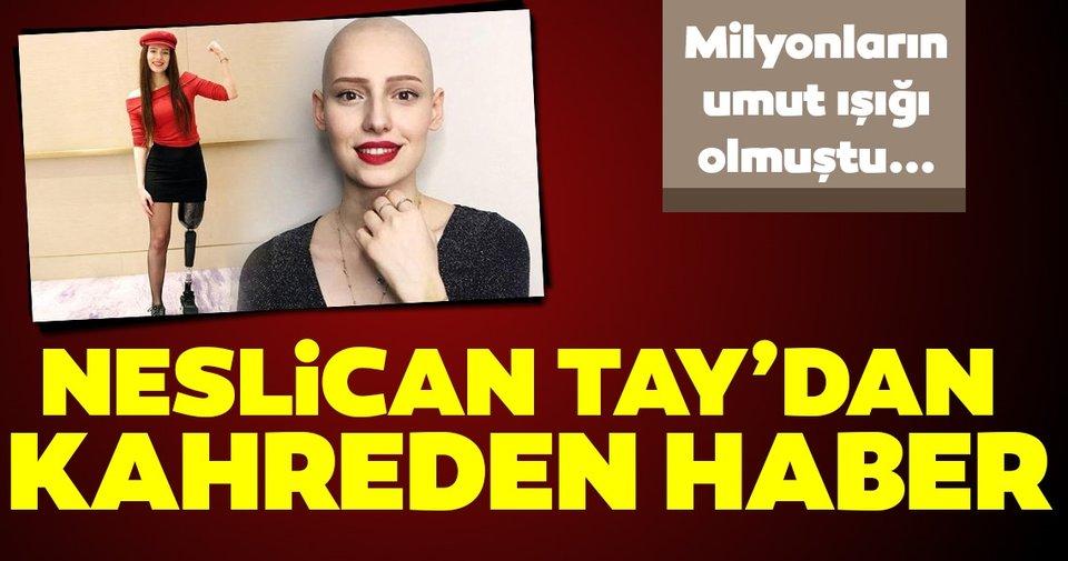 Hastaneden son dakika açıklaması: Neslican Tay hayatını kaybetti! Neslican Tay'ın hayatı mücadeleyle doluydu
