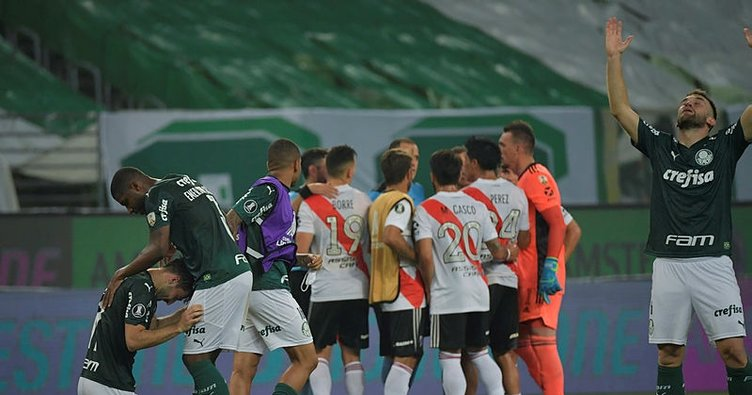 Libertadores Kupası'nda ilk finalist Palmeiras!
