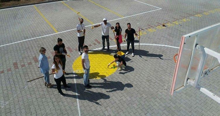 Diyarbakır'da 50 bin öğrenci spor alanına kavuştu