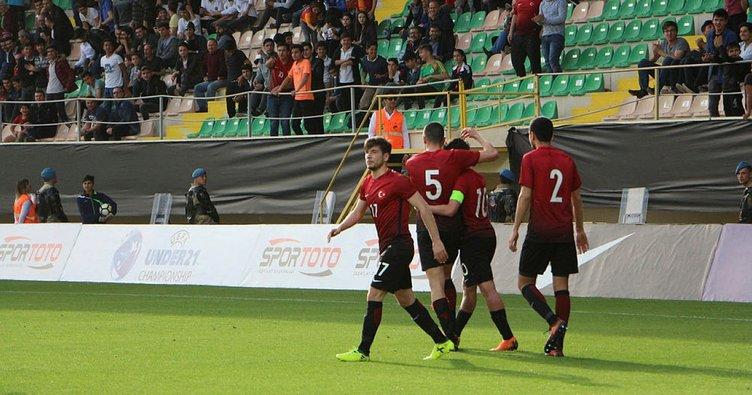 Ümit Milliler, Malta'yı 4 golle geçti