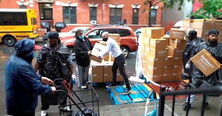 Türk pizzacıdan New Yorklu yoksullara TIR'lar dolusu pizza