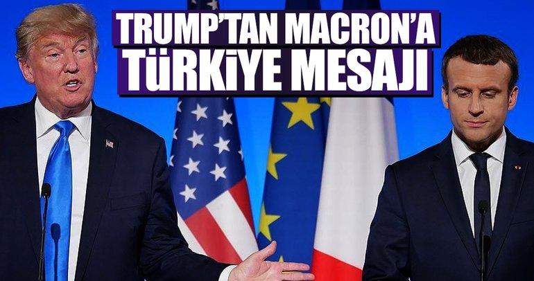 ABD Başkanı Trump, Fransa Cumhurbaşkanı Macron ile telefonda görüştü