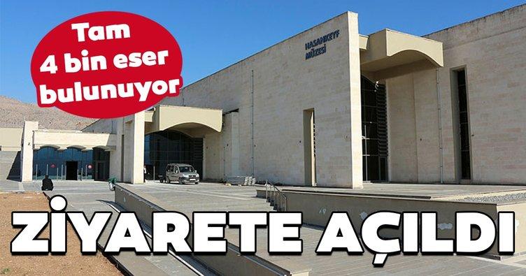 4 bin eserlik Hasankeyf Müzesi, ziyareteaçıldı