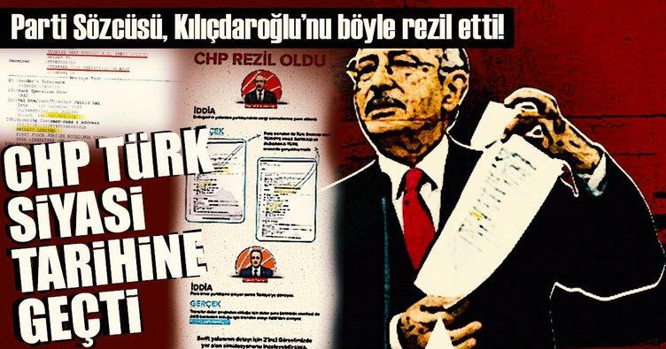 Parti Sözcüsü, Kılıçdaroğlu'nu böyle rezil etti!