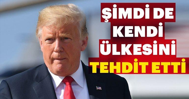 Trump, ABD'yi Dünya Ticaret Örgütünden çekmekle tehdit etti