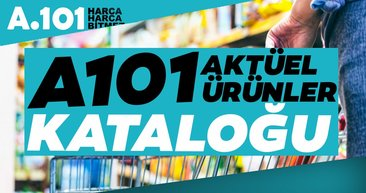 A101 aktüel ürünler kataloğu! 3 Ocak tarihinden itibaren A101 aktüel ürünler büyük fırsatlarla geliyor!