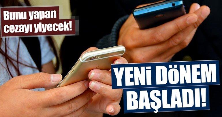 Onaysız gelen SMS'lere 50 bin liraya kadar ceza
