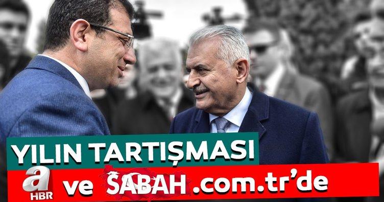 Yılın tartışması aHaber ve sabah.com.tr'de
